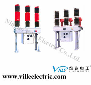 Lw36-72.5 (W) /T3150 -40 Self-Energy Outdoor Hv AC Sulfur Hexafluoride Circuit Breaker pictures & photos