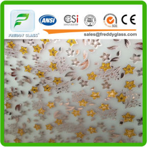 4-6mm Decoration Frosted Glass/Art Glass/Acid Etched Art Glass pictures & photos