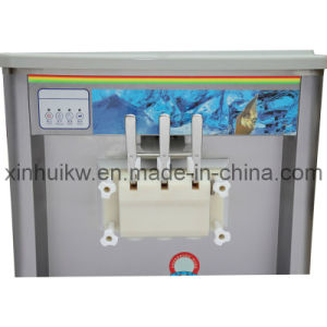 Stainless Steel Soft Ice Cream Machine with CE pictures & photos