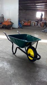 "Wheelbarrow Wb3800 Wheelbarrows with 13""X3"" Wheel for South Africa Market pictures & photos"