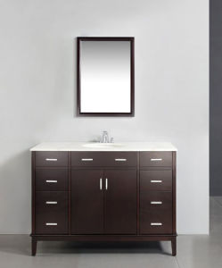 Solid Wood Bathroom Vanity with Classic Design pictures & photos