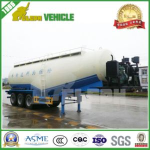 Tri-Axle Bulk Cement Powder Tank Trailer pictures & photos
