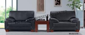 PVC Black Office Furniture Popular Sofa