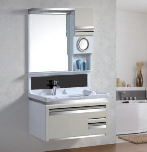 China High Quality PVC Wall Commercial Bathroom Vanity Units with ...