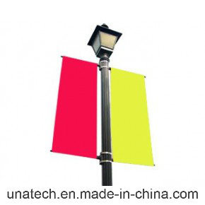 Double Sided Street Pole Banner Hardware Bracket Vinyl Banners pictures & photos
