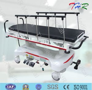 Rise-and-Fall Medical Hydraulic Stretcher pictures & photos