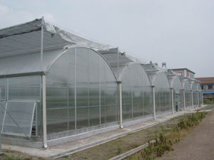 Quality Modern Design PC/Film Multi-Span Greenhouse pictures & photos