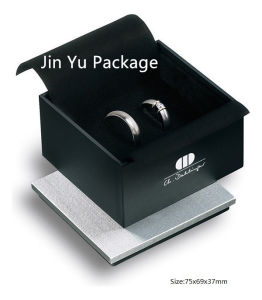 New Black Gift Paper Jewelry Box for Ring, Necklace, Bracelet, Pendant pictures & photos