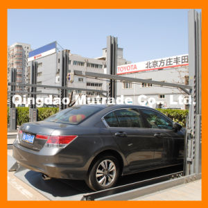 CE Hydraulic Two Post Car Parking Lift, Double Layer Hydraulic Parking Lift (TPP-2) pictures & photos
