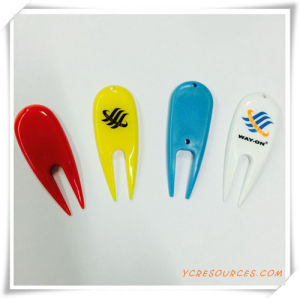 Promotional Gift for Plastic Golf Divot Tools (OS04005) pictures & photos