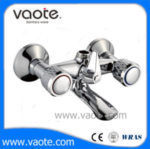 Brass Body Double Handle Shower Faucet (VT60301) pictures & photos