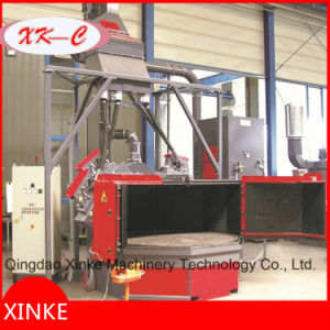 Turn Table Table Wheel Shot Blasting Machine Q3512 pictures & photos