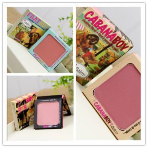 Professional The Balm Cosmetics Eye Shadow Palette Single Color Blush Palette pictures & photos