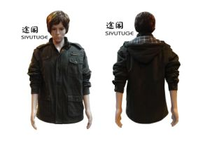 Men Fashion Winter Padding Cotton Hoody Jacket (SY-1557) pictures & photos