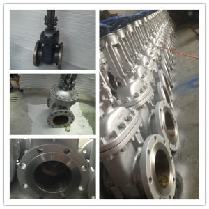 Forged Steel Wedge Gate Valve RF Flange 150lb pictures & photos