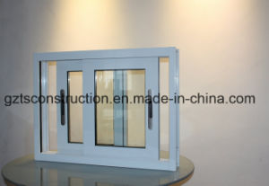 Water Proof Aluminum Sliding Window in White Color pictures & photos
