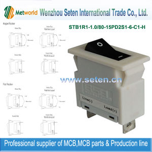 Hydraulic / Magnetic Circuit Breaker/Miniature Circuit Breaker Mini Circuit Breaker pictures & photos