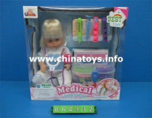 "16""Soft Boy Baby Doll with Doctor Set and Music (864432) pictures & photos"