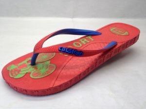 PE PVC Pcu Rubber Flip Flops (24IW1705) pictures & photos