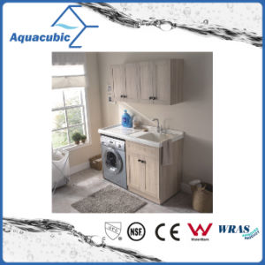 Double Doors Bathroom Vanity with Side Cabinet (ACF8909) pictures & photos