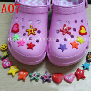 High Quality Soft Rubber Shoe Clips for Kids pictures & photos
