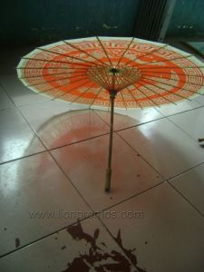 China Traditional Gift Craft Oiled Paper Umbrella pictures & photos