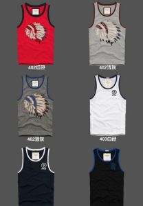 Polyester Dry Fit Fitness Printed Men Tank Tops pictures & photos