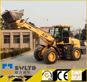 Telescopic Wheel Loader 2 Tons Lifting Capacity with CE pictures & photos