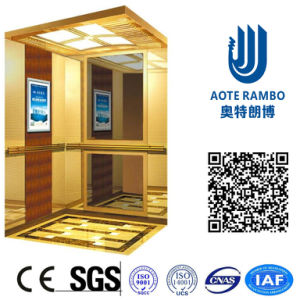 AC Vvvf Gearless Drive Passenger Elevator Without Machine Room (RLS-252) pictures & photos
