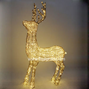 LED Decorative Steel Deer Light (LDM-DEERG-01/02/03) pictures & photos