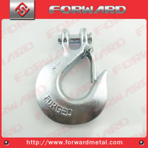 H331 Alloy Steel Clevis Slip Hooks with Latch pictures & photos
