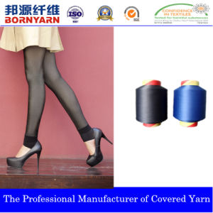 Spandex Covered Yarn with Nylon and Polyester for Seamless pictures & photos