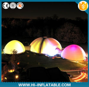 Newest Inflatable Cube Tent for Show/Cube Tent with LED Light pictures & photos