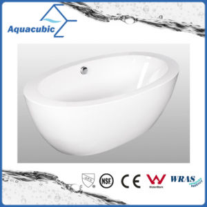 Bathroom Pure Acrylic Seamless Freestanding Bathtub (AB6501) pictures & photos