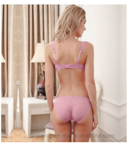 Top Selling Lace Ladies Brief and Bra pictures & photos