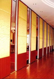 Soundproof Sliding Parititon Walls for Restaurant and Hotel pictures & photos