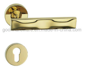 High Quality Zinc Alloy Door Handle on Rose - 316 pictures & photos