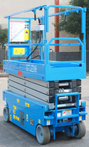 6m Electric Scissor Lift (GTJZ6) pictures & photos
