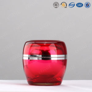 30g 50g High Quality Plastic Acrylic Double Wall Cosmetic Cream Container Jar pictures & photos