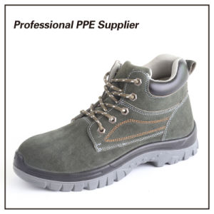Lightweight Genuine Leather Construction Safety Footwear pictures & photos
