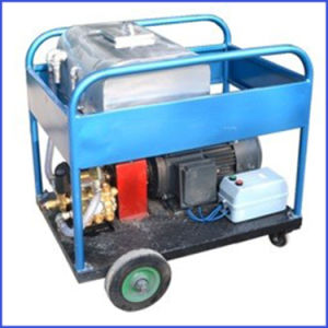 300bar Concrete Cleaning High Pressure Cleaner Water Jet Machine pictures & photos