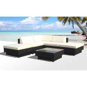 Rattan Sofa for Outdoor with Different Colors / SGS (9509-1) pictures & photos