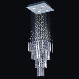 Beautiful Candle Crystal Chandelier for Decoration Shop (GD-8003-5) pictures & photos