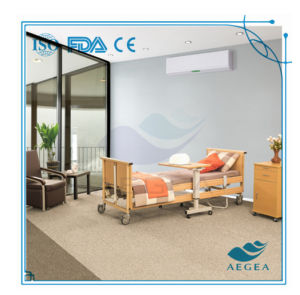 AG-Mc001 Wood Electric Home Care Nursing Bed pictures & photos