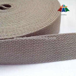 27mm Army Green Flat Cotton Tape pictures & photos