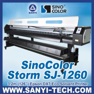 Sinocolor Sj-1260 --- 3.2m Eco Solvent Printer pictures & photos
