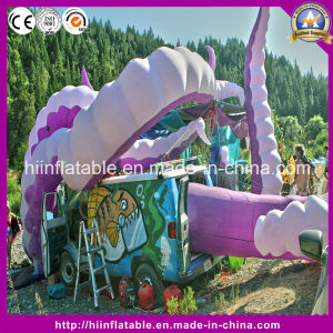 Hot Purple Inflatable Octopus Tentacle for Outdoor Music Event pictures & photos