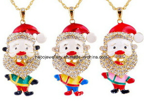 Christmas Jewelry/Christmas Necklace/Father Christmas (XJW13344) pictures & photos