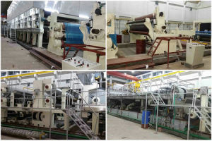Waste Paper Recycling Plant, Corrugated Carton Making Machines, Kraft Paper Machine pictures & photos