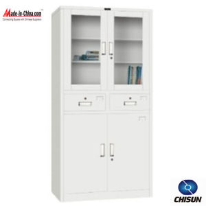Metal Furniture Filing Cabinet with 2 Drawers Hs-031